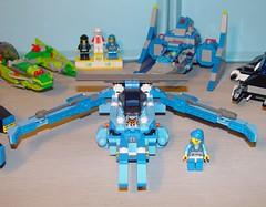 F-Zero X Lazytown (fungandus) Tags: lego nintendo racing legos spaceship build snot n64 moc afol supernintendo supernes fzero lazytown sportacus myowncreation fzerox advancedbuildingtechniques snottechnique