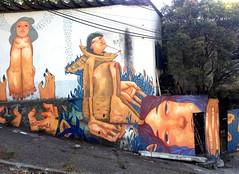 (M A G R E L A) Tags: street brazil streetart art wall brasil graffiti mural br arte saopaulo sampa sp rua mag grafite saopaolo muralart esconderijo magrela ludico