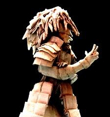 ORIGAMI MADARA UCHIHA :D (Neelesh K) Tags: baby anime angel skull spider origami dragon faces manga masks lincoln batman joker daredevil wyvern uchiha neelesh madara boxpleating madarauchiha origamimadara