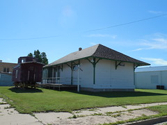 The Old Terry Train Depot (jimmywayne) Tags: railroad train montana historic terry depot musem prairiecounty