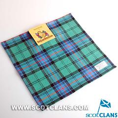 Clan Armstrong Tartan Handkerchief: