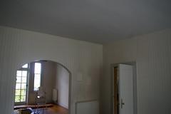 Interior prior to construction