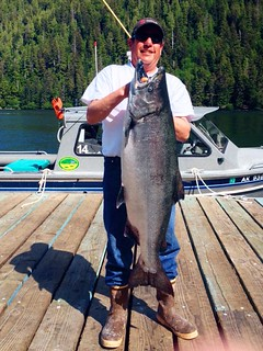 Alaska Salmon Fishing Lodge - Luxury 55