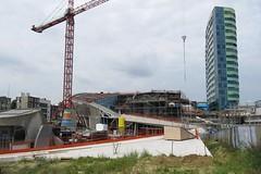 Centraal Station, Arnhem (Stewie1980) Tags: netherlands station canon site construction arnhem nederland powershot centraal gelderland nieuwbouw stationsplein stationsgebied sx130 sx130is canonpowershotsx130is