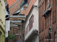 Lbeck's Old Town (ChristianeBue) Tags: urban architecture historic lbeck schleswigholstein