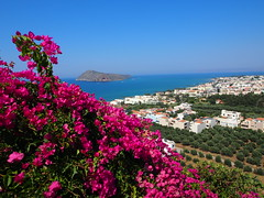 View over Platanias, Crete!