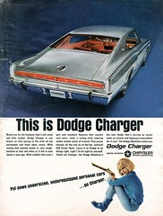 1966 Dodge Charger Advertisement Hot Rod April 1966