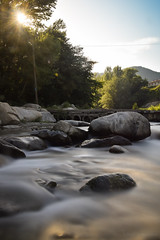 River II (Lilian Thoumire Photography) Tags: longexposure light sun nature water rock river landscape photography soleil photo nikon holidays natural rivire le waterfalls nikkor paysage pyrnes waterscape 18105 youngphotographer d3300 jeunephotographe lilianthoumirephotography