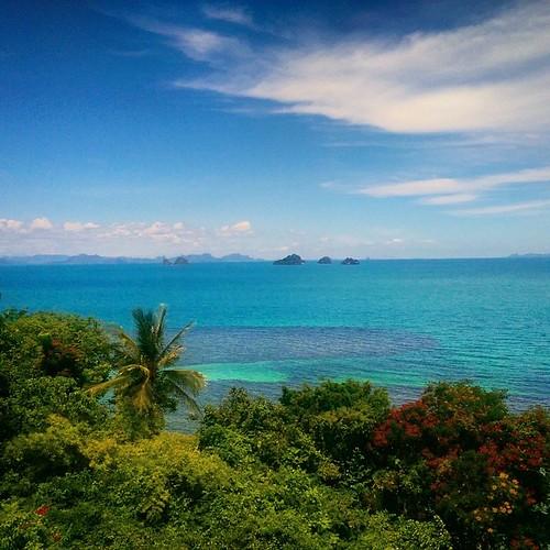 #Thailand #kohsamui #beach #lagoon #sky #sea #jungle