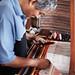 "Oaxaca carpet maker on loom • <a style=""font-size:0.8em;"" href=""https://www.flickr.com/photos/40181681@N02/14761141486/"" target=""_blank"">View on Flickr</a>"