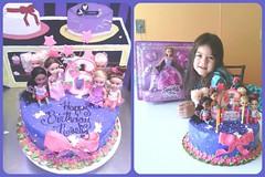 Sparkle Girlz cake by Sylvia, Northumberland, PA, www.birthdaycakes4free.com