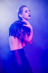 Jessica (Mal Urwin) Tags: portrait art fashion portraits studio model smoke style alternitive