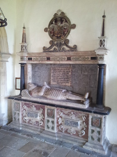 The tomb of Charles Noel, dated 1619