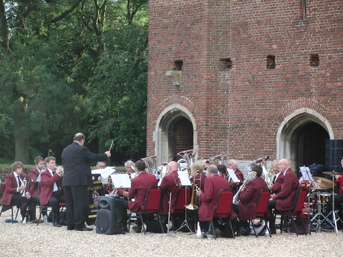 Tattershall Castle - ASB in mid-performance.