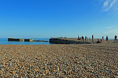 Hastings Beach and Harbour Arm 2011 (Daves Portfolio) Tags: beach hastings infocus highquality harbourarm