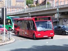 trent barton 429 Nottingham (Guy Arab UF) Tags: nottingham bus buses station group trent solo barton 429 optare broadmarsh wellglade m920 b33f wellgladegroup x629erb