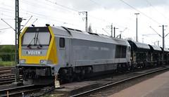 263 004 Emden 13.04.2014 (hansvogel51) Tags: germany private deutschland maxima emden dwk eisenbahnen 30cc voith dieselloks br263