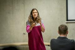 """Janina Žiberna: predstavitev prispevka o raziskovanju in preprečevanju samomora v zaporih • <a style=""""font-size:0.8em;"""" href=""""http://www.flickr.com/photos/102235479@N03/15002695150/"""" target=""""_blank"""">View on Flickr</a>"""