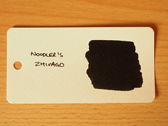 Noodler's Zhivago - Word Card