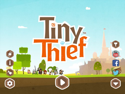 Tiny Thief Main Menu: screenshots, UI