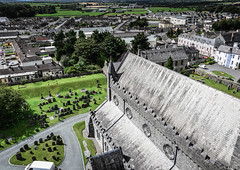 St Canice's Cathedral viewed from Round Tower Kilkenny Ireland (mbell1975) Tags: from county kilkenny ireland irish tower church abbey st europe cathedral dom kathedrale catedral iglesia kirche eu chapel irland eire na norman chiesa cathédrale igreja round co kerk eglise dumo irlanda irlande kathedraal viewed kirke domkirke kapelle cill katedra éire canices chainnigh poblacht airlann kathedralkirche héireann