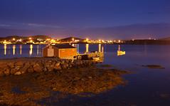 Durrell harbor at night (csnyder103) Tags: night newfoundland boats boathouse durrell twillingateisland canon1dmkiii tokina1628f28