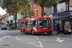 Arriva Midlands 2204 RN52EYH (Andy4014) Tags: bus leicester caetano arriva dennisdart wardletransport rn52eyh