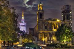 All Saints Church, Grzybowski Square, Warsaw (Pawel Banaszkiewicz) Tags: church square all saints culture palace science warsaw pkin grzybowski