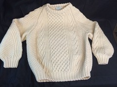(Mytwist) Tags: ireland irish wool fashion sweater fisherman ebay large ivory craft style jumper blarney raglan mills aran cabled woolen mytwist myshoppingparadise