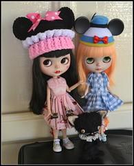 Minnie Brought a Friend to Disneyland