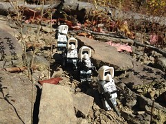"""""""Why are we here? There's NOTHING here!"""" (kevinmboots77) Tags: starwars lego stormtroopers scouttroopers legography"""