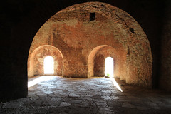 entrails of the fortress  (cyberjani) Tags: arches albania fortress balkan gjirokaster