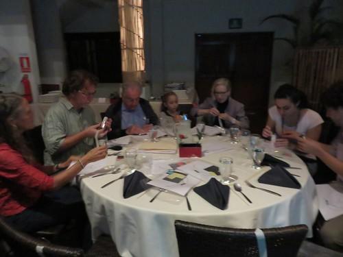 Conferencia y cena con Modesto Tamez