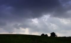 Et la lumire fut. (Vootch) Tags: sky cloud ciel nuage paysage campagne
