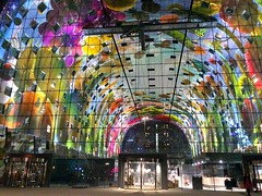 Rotterdam, Holland - Markthal (Ron van Zeeland) Tags: holland architecture rotterdam thenetherlands architectuur mvrdv markethall markthal winymaas arnocoenen irisroskam provast