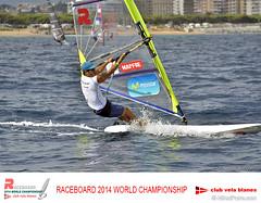 RACEBOARD 2014 WORLD CHAMPIONSHIP Club Vela Blanes