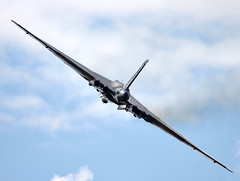 Vulcan (Bernie Condon) Tags: avro vulcan bomber military warplane aircraft flying aviation jet vintage preserved classic airshow display riat airtattoo tattoo ffd fairford xh558