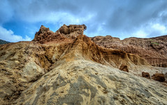 Sandy Cliffs (danielledufour430) Tags: coast sand cliffs erosion pointloma sandiego california sky clouds rocks nature landscape sonya6000 hdr