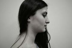 URSA MINOR (Elizaveta Krasenko) Tags: one person ursa minor girl indoor portrait photo black bw stars