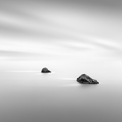 Rock Race (Neil Burnell) Tags: berry head rocks island sea ocean le long exposure hitech formatt mono monochrome minimal minimalism seascape