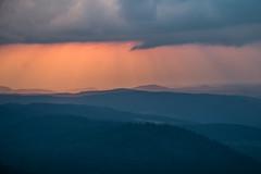 Pastel mountains (alain01789) Tags: vosges honeck mountain montagne paysage landscape sunset crepuscule clouds nuages light orange sun soleil velvia