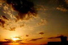 Si fa sera....... (dona(bluesea)) Tags: sky sunset nuvole clouds sole sun marsala sicilia siicly italia italy