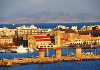 Mandraki Port, Rhodes