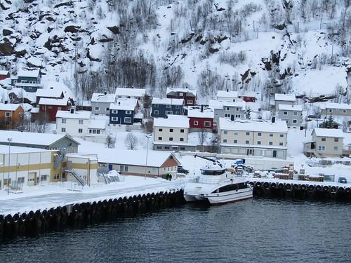 europe scandinavia norway tromso hurtigruten mstrollfjord øksfjord