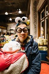 將所有野戴上身,影幅相,然後放返低,運吉完畢🍅 (Steve Wan^_______________,^) Tags: osaka nagoya hong kong travel new year happy couple life