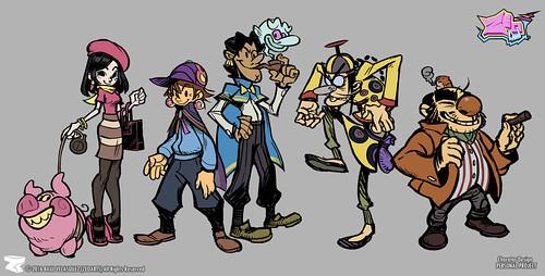 Character designer - ilustration 03 | ZeoLand