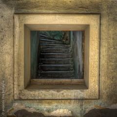 Profitis Ilias, Rhodos (Mia Battaglia photography) Tags: abandoned stairs interiors olympus greece urbanexploration hdr rhodos urbex 124028