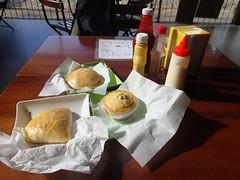 """Les fameux salgados, beignets fourés de viande, poulet ou jambon fromage. • <a style=""""font-size:0.8em;"""" href=""""http://www.flickr.com/photos/113766675@N07/14238086508/"""" target=""""_blank"""">View on Flickr</a>"""
