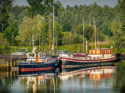 cruise sunset amsterdam river germany boat german helvetia viking rhine barge vikingrivercruisegermanygermanrhine