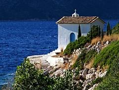 St Andreas Chapel (rdhphotos) Tags: chapel greece ithaca